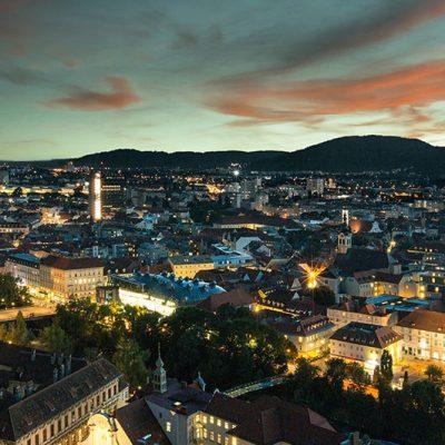 Blick über Graz_Citycom